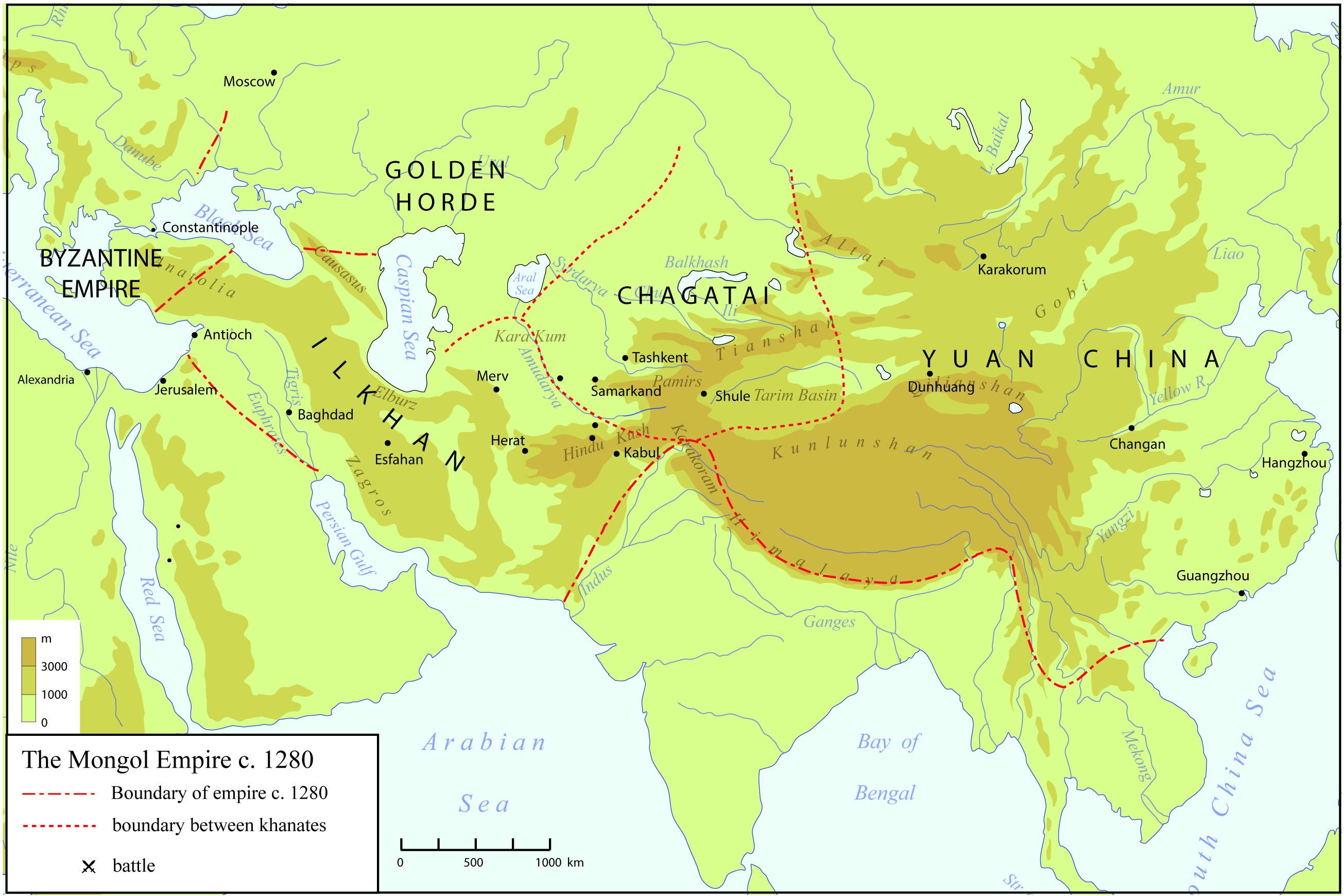 mongol empire and silk road essay Trade on the silk road history essay print trade along the silk road in the pre-mongol era mainly the attitude of the major empire along the silk road.